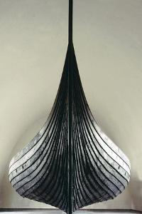The Gokstad Ship, Viking, Norway, 9th century by Werner Forman