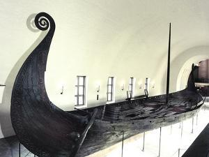 The Oseberg Ship, Viking, Norway, c850 by Werner Forman