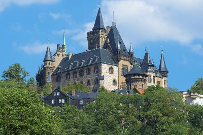 Wernigerode Castle, Harz, Saxony-Anhalt, Germany, Europe-G & M Therin-Weise-Photographic Print
