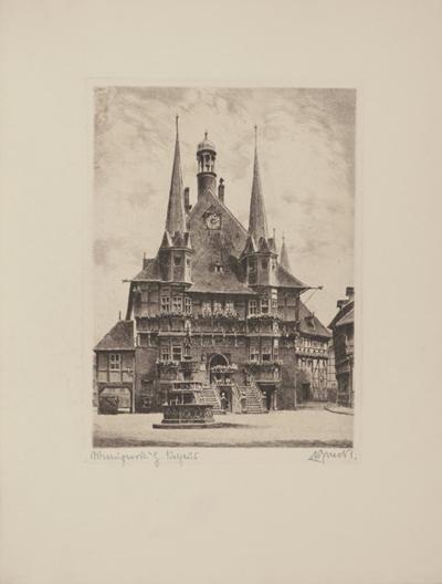 Wernigerode - Rathaus-Bruck-Collectable Print