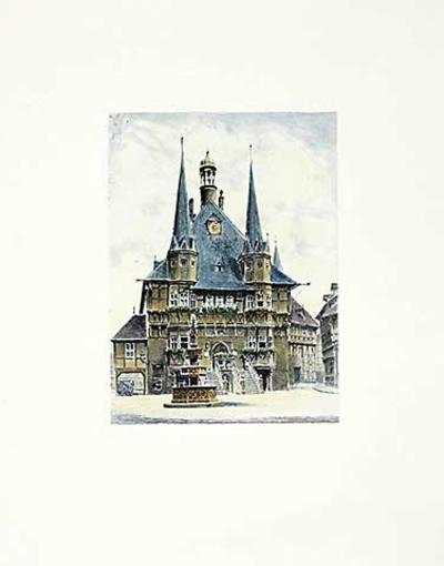 Wernigerode, Rathaus-Bruck-Collectable Print
