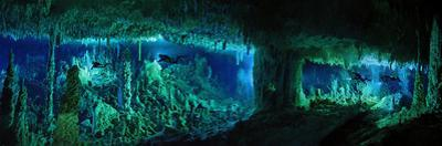 The Cascade Room Leads Divers Deeper Into Dan's Cave on Abaco Island