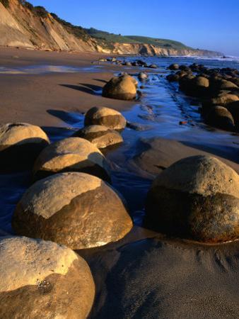 Bowling Ball Beach in the Point Arena Area, Mendocino, California, USA