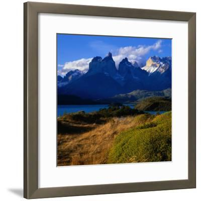 Cuernos in Late Afternoon Light, Torres Del Paine National Park, Chile