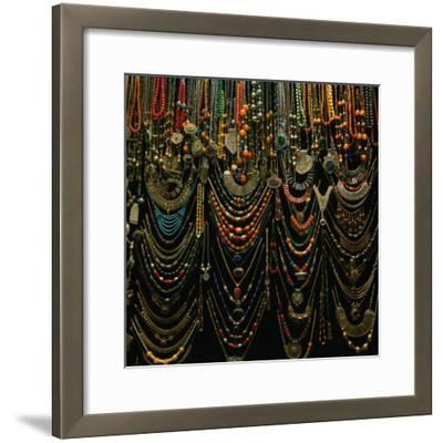 Jewellery for Sale at Istanbul Bazaar, Istanbul, Turkey