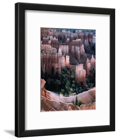 """Overhead of """"Hoodoo"""" Limestone, Sandstone and Mudstone Formations, Bryce Canyon National Park"""