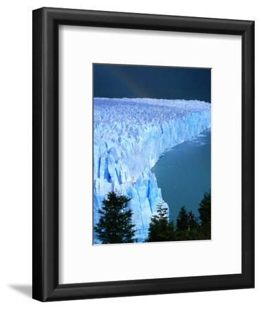 Overhead of Perito Moreno Glacier with Rainbow, Los Glaciares National Park, Argentina