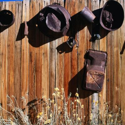 Rusted Pots and Pans from the Cerro Gordo Mine, Inyo National Forest, California, USA