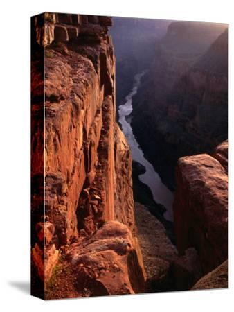The Colorado River at Sunrise from the Toroweep Lookout, Grand Canyon National Park, Arizona, USA