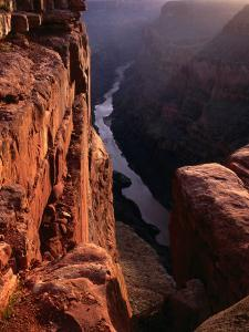 The Colorado River at Sunrise from the Toroweep Lookout, Grand Canyon National Park, Arizona, USA by Wes Walker
