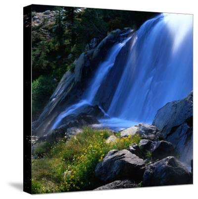 Waterfall, Sierra Nevada Mountains, Ansel Adams Wilderness Area, USA