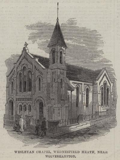 Wesleyan Chapel, Wednesfield Heath, Near Wolverhampton--Giclee Print
