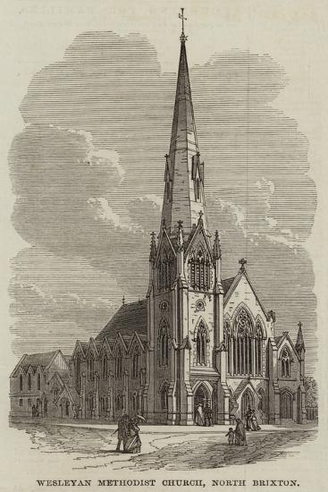 Wesleyan Methodist Church, North Brixton--Giclee Print