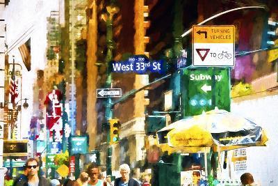 West 33rd Street-Philippe Hugonnard-Giclee Print