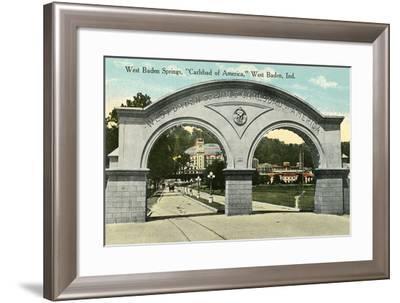 West Baden Springs--Framed Art Print