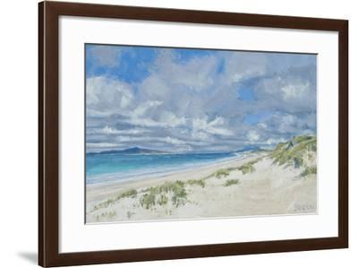 West Beach, Berneray, 2013-Charles Simpson-Framed Giclee Print