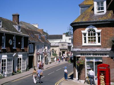 West Borough, Wimborne, Dorset, England, United Kingdom-J Lightfoot-Photographic Print