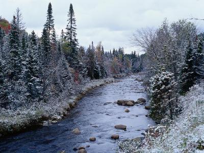 West Branch River, Adirondack Mountains, NY-Jim Schwabel-Photographic Print