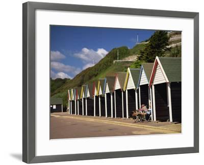 West Cliff, Bournemouth, Dorset, England, UK-Pearl Bucknall-Framed Photographic Print