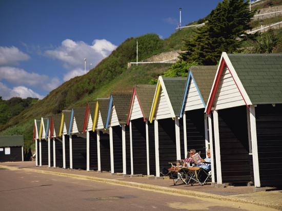 West Cliff, Bournemouth, Dorset, England, UK-Pearl Bucknall-Photographic Print