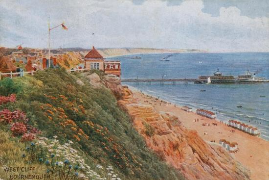 West Cliff, Bournemouth-Alfred Robert Quinton-Giclee Print