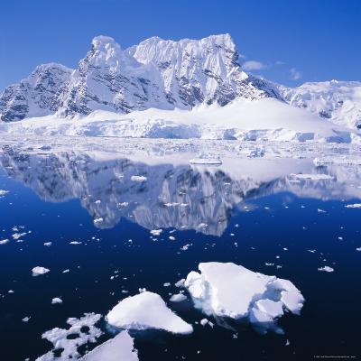 West Coast of Antarctic Peninsula, Antarctica-Geoff Renner-Photographic Print