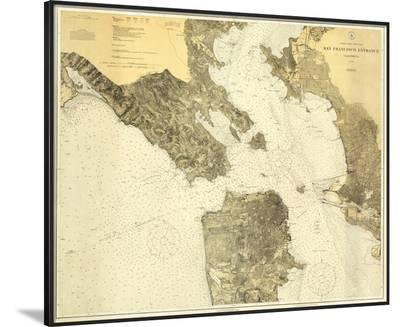 West Coast: San Francisco, California, c.1926--Framed Art Print