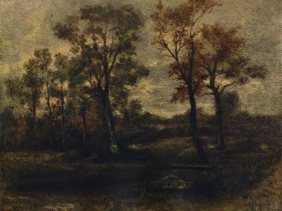 West End Fields, Hampstead, c1833-John Constable-Giclee Print