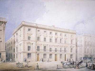 West End of Moorgate Street--Giclee Print