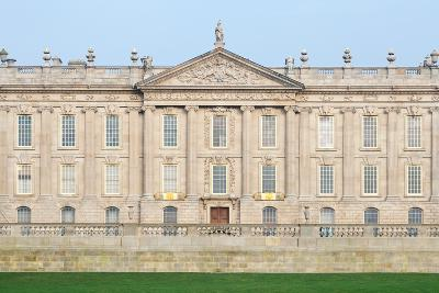 West Front, Chatsworth House, Derbyshire--Photographic Print