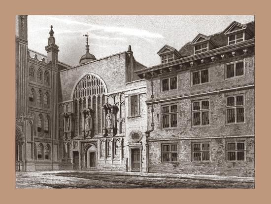West Front of Guildhall Chapel, 1886-Unknown-Giclee Print