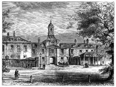 West Front of Kensington Palace, London, 1900--Giclee Print