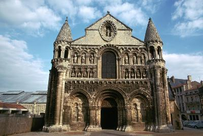West Front of Notre Dame, 12th Century-CM Dixon-Photographic Print