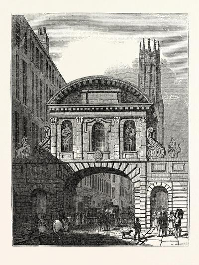 West Front of Temple Bar London--Giclee Print