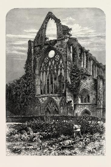 West Front of Tintern Abbey, UK, 19th Century--Giclee Print
