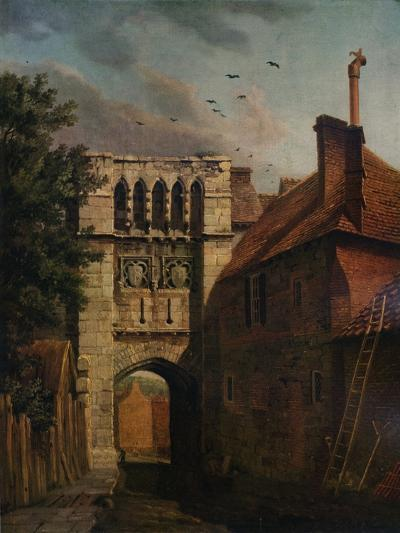 West Gate, Winchester, 1779-Michael Angelo Rooker-Giclee Print
