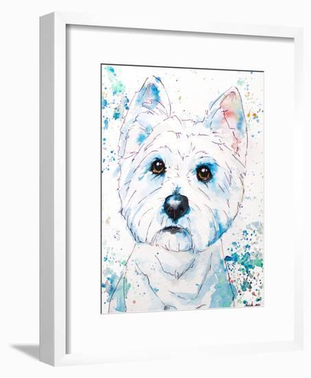 West Highland Terrier-Allison Gray-Framed Art Print