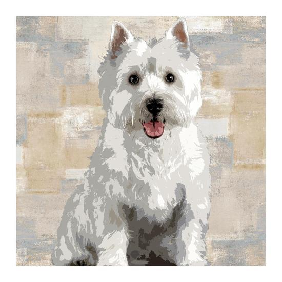West Highland White Terrier-Keri Rodgers-Giclee Print
