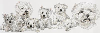 West Highland White-Barbara Keith-Giclee Print