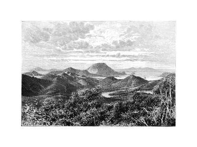 West Indian Scenery, View Taken in the Saintes Islands, C1890- Maynard-Giclee Print