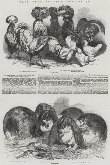 West Kent Poultry Exhibition-Harrison William Weir-Giclee Print