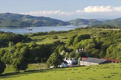 West Loch Tarbert from Kintyre, Argyll and Bute, Scotland-Peter Thompson-Photographic Print