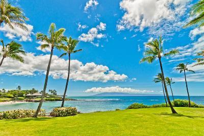 West Maui's Famous Kaanapali Beach Resort Area-eddygaleotti-Photographic Print