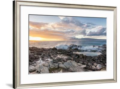 West Maui Sunset-Stan Hellmann-Framed Photo