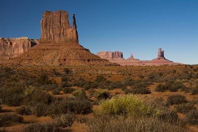 West Mitten, Monument Valley Navajo Tribal Park, Arizona-Michel Hersen-Photographic Print