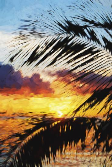 West Palm II - In the Style of Oil Painting-Philippe Hugonnard-Giclee Print