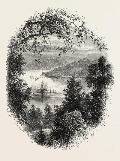 West Point, on the Hudson, New York, USA, 1870s--Giclee Print