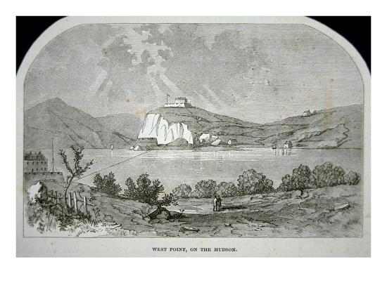 West Point, the Key Fort That Benedict Arnold Plotted to Deliver to the British During the War-American-Giclee Print