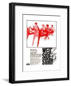 West Side Story, German Poster Art, 1961
