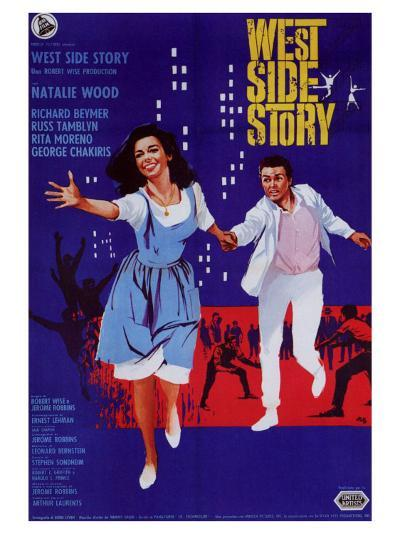 West Side Story, Italian Movie Poster, 1961--Art Print
